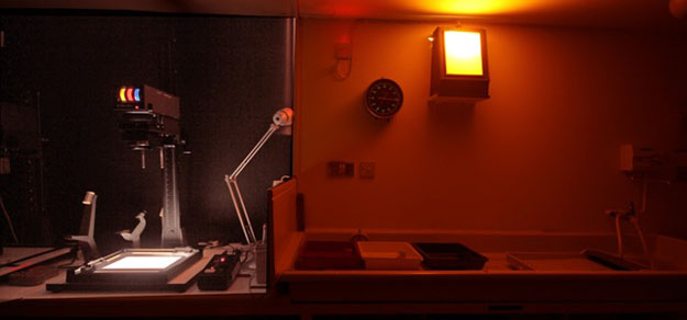 Our Darkroom (pic by Bill Salkeld)