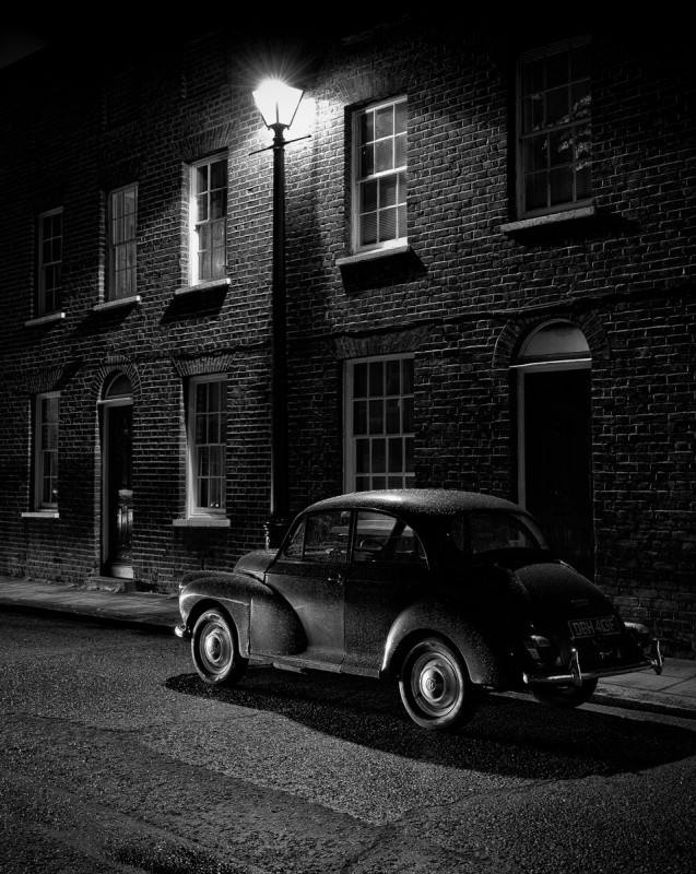 Adrian-Hazeldine_Parked-under-the-street-lamp